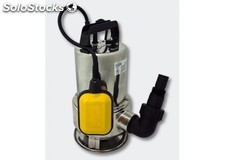 Bomba de Achique Sumergible 1100Watt - 15000 l-h - acero inoxidable