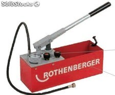 Bomba de comprobación manual Rothenberger rp 50 s