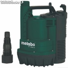 Bomba sumergible para agua limpia metabo tp12000 si