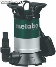 Bomba sumergible para agua limpia metabo tp13000 si