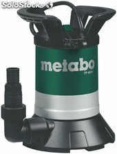 Bomba sumergible para agua limpia metabo tp6600