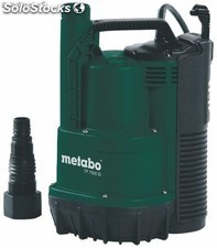 Bomba sumergible para agua limpia metabo tp7500 si