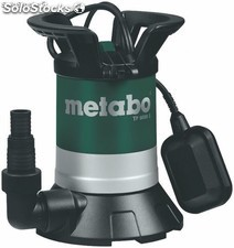 Bomba sumergible para agua limpia metabo tp8000 s
