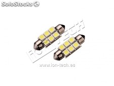 Bombilla c5w 36mm 6led smd 5050
