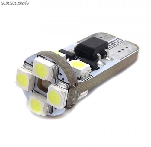 Bombilla led 24 Voltios canbus w5w t10 Tipo 75