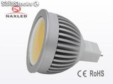 Bombilla led cob 3w mr16 blanco cálido
