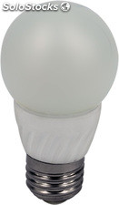 Bombilla LED E27 4 w. / 230 v. 50 hz. 4000-4500k blanco natural base porcelana