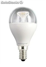 Bombilla led integral mini globe E14 6.5W 270