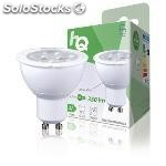Bombilla led MR16 GU10, 4,7 w, 350 lm, 2700 k