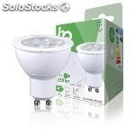 Bombilla led MR16 GU10, 4 w, 250 lm, 2700 k