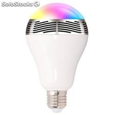 Bombilla LED Multicolor Bluetooth con Altavoz Ledoly C2000