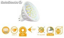 Bombilla MR16 led 5W 120º 30K oferta