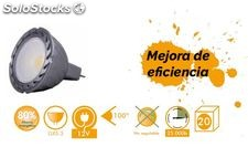 Bombilla MR16 led 8W 100º 30K oferta