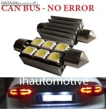 Bombillas C5W 6 leds SMD 36 y 39mm CAN BUS (No error) Matrícula / interior