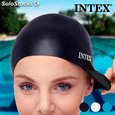 Bonnet de Natation en Silicone Intex