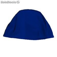 Bonnet maille enfant bleu royal