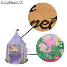 Boppi Canvas Purple Princess Castle Tent TE-1153