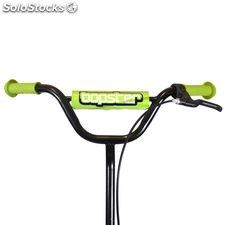 Bopster BMX Stunt Scooter Black with Green Trim