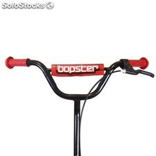 Bopster BMX Stunt Scooter Black with Red