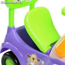 Bopster ride on animal purple and green dog