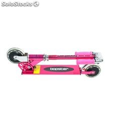 Bopster T-Bar 2 Wheel Chrome Scooter Pink