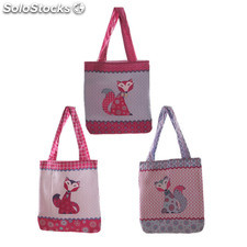 Borsa in Tessuto Volpe - Patchwork
