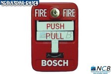 Bosch Fmm-325A-D Manual Push Alarm Analog Double Red