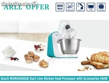 Bosch MUM54D00GB start line food processor with accessories & bag 3D 900W- brand