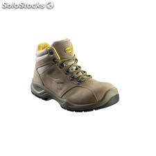 Bota Piel Nobuck S3 Marron 41 - diadora - Flow Ii High