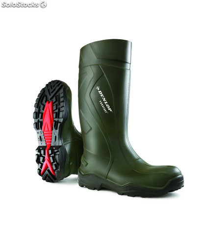 Bota purofort dunlop thermo verde oscuro t-45