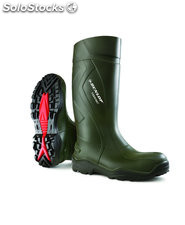 Bota purofort dunlop thermo verde oscuro t-46