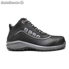 Bota T40 S3 Pu/Pl No Met Be-Free Top Piel Engr. Neg/Gr Base