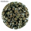 Bote 100 anillas color castaño medio