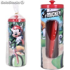 Bote metal 25 pajitas mickey - disney - mickey - 8433774557982 - BY2055798