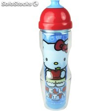 Botella agua hello kitty
