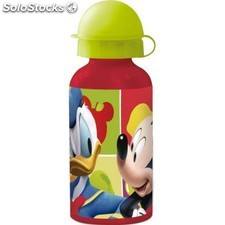 Botella Aluminio Mickey 400Ml.