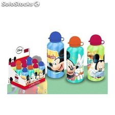 Botella Aluminio Mickey 500Ml.