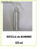Botella de aluminio 120ml