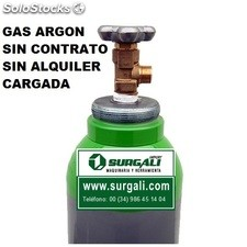 Botella Gas Argón