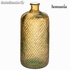 Botella hammered marrón grande - Colección Crystal Colours Kitchen by Homania