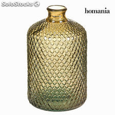 Botella hammered marrón peq. - Colección Crystal Colours Kitchen by Homania