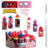 Botella mas Caramelos Spiderman & Hello Kitty