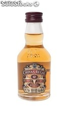 Botella Miniatura Chivas Regal Scotch Whisky