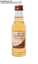 Botella Miniatura Dewar's White Label Whisky