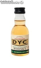 Botella Miniatura DYC Selected Whisky