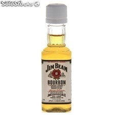 Botella Miniatura Jim Beam Borboun