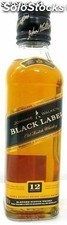 Botella Miniatura Whisky Johnnie Walker Black