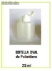 Botella oval de Polietileno 25ml