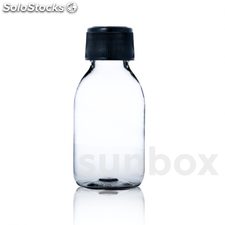 Botella PET 125ml Transparente