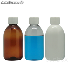 Botella PET 250ml Transparente